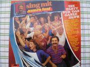 Musikschallplatte Sing mit James Last
