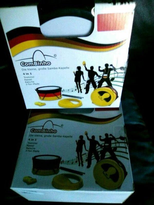 Musikinstrumente kleine Samba Band - NEU -