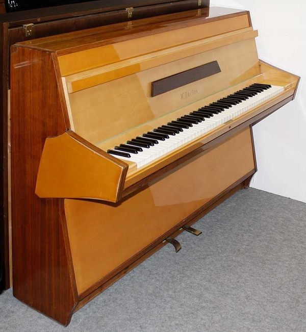 Klavier Berdux 105 Nußbaum Ahorn