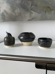 3 x Studio Kermaik Vasen