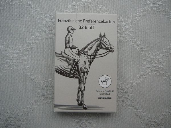 Verkaufe 3 neue ungespielte Skat Französisches Blatt Kartenspiele