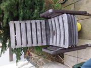 4 gut erhaltene Gartenstühle