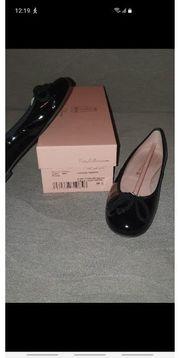 Pretty Ballerinas Lack schwarz Größe