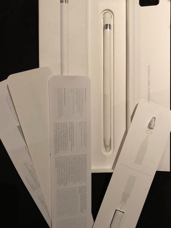 Apple Pencil - Blumberg - Apple Pencil 2-3 mal benutzt mit Ersatzspitze,Ladeadapter und Original Verpackung - Blumberg