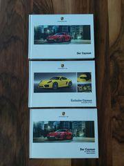 Porsche Cayman Fachliteratur 3 Stück