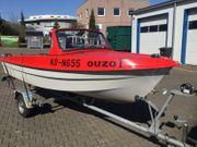 Sportboot Ibis 2 mit Trailer