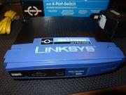 Linksys ADSL2-Modem 4-Port-Switch AG241v2 Gateway