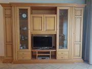 Massiver Wohnzimmer-Schrank mit Bar Beleuchtung