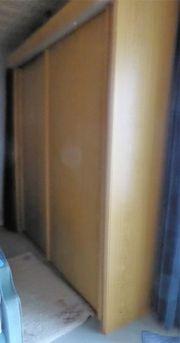 Kleiderschrank 2 m breit Schwebetürenschank