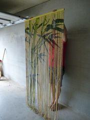 Echtholzvorhang zu verschenken