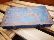 Retro Werkzeugboxen aus Metall