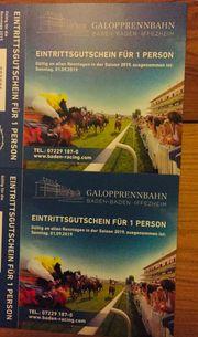 Tickets Pferderennbahn Iffezheim