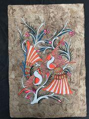 Seltene original handgemalte Gemälde auf