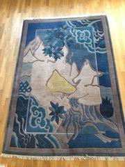 Wunderschöner Tibeter Teppich