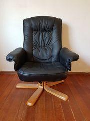 Drehsessel Sessel aus Kunstleder