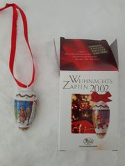 Weihnachtszapfen Hutschenreuther 2002