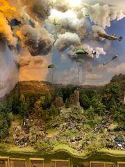 Modellbau Diorama und Rangieranlage Militär
