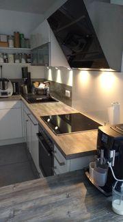 NOBILIA Küche mit Kücheninsel und