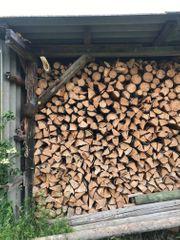 Brennholz Kaminholz Fichte Tanne trocken