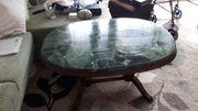 Tisch Couchtisch Steinplatte