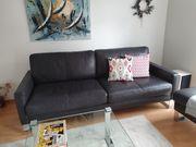 Sofa Couch in Leder von