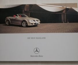 Mercedes-Teile - SLK Prospekt R170 R171 u