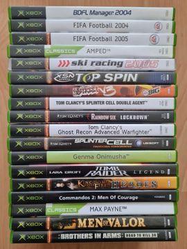 Xbox - XBox Spiele X Box