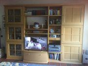 Wohnzimmerwand von Hülsta Buche