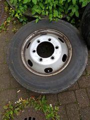 6 LKW Reifen auf Felge
