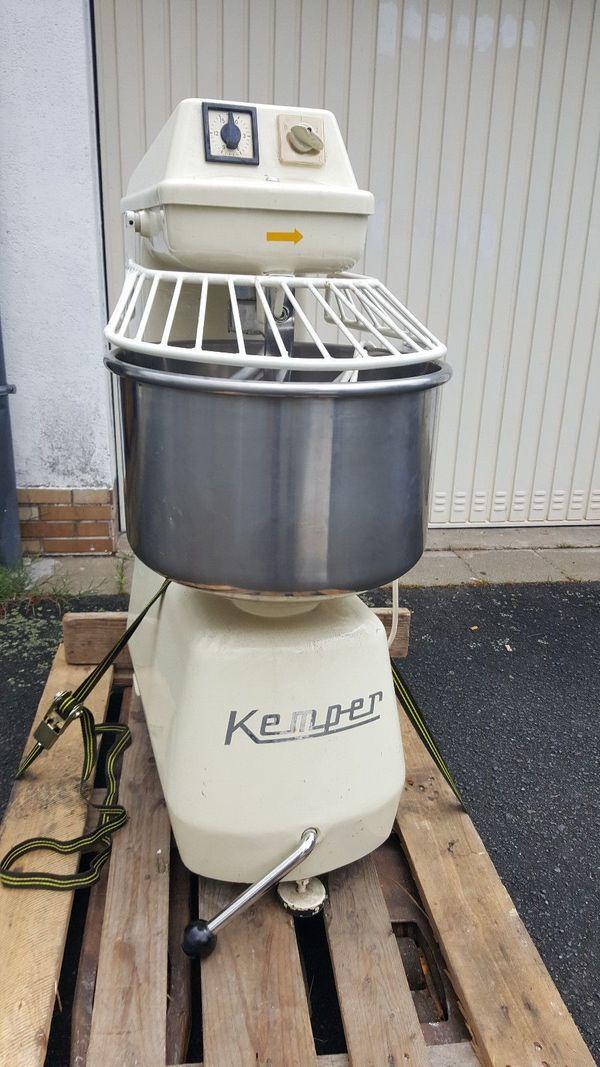 Kemper SP15 Teigmaschine Teigknetmaschine Spiralknetmaschine