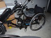 Handbike mit Rollstuhl bis zu