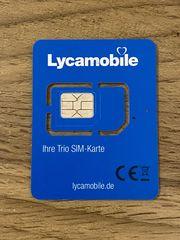 Lyca Mobile Prepaid Sim Karte