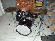 Tama Swingstar Drumset schwarz