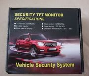 Security TFT Monitor Rückfahrkamera Neu