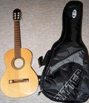 3 4 Classic Konzertgitarre inkl