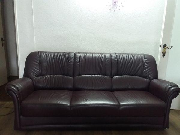 Premium Kunstleder Sofa 3 Sitzer