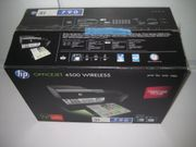 HP Officejet 4500 Faxen Drucken