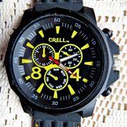 Top XXL-Sport-Armbanduhr in Chrono-Optik mit