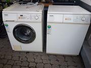 Waschmaschine und Trockner funktionsfähig
