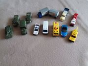 19 Stück Spielzeugautos - Matchies und