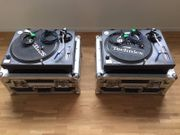 2x Technics SL 1210 MK2