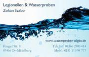 Legionellen Wasserproben