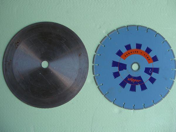 2 Stück Diamantscheiben D 350mm