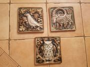 Schmuckfliesen Tiermotive aus Keramik