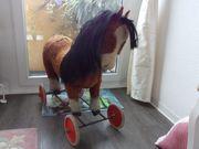 Steiff Tier Pferd Pony Braun