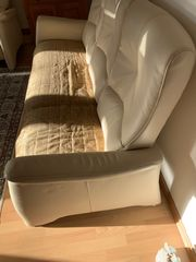 3-Sitzer Leder Sofa Couch