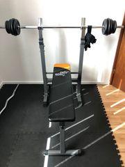 Fitnessgeräte Hantelbank LH SZ-H Gewichte