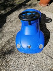 Bobbycar VW Käfer dunkelblau