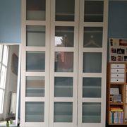 Pax Kleiderschrank 3 Türen Glas