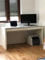 Schreibtisch NEU weiß montiert home24